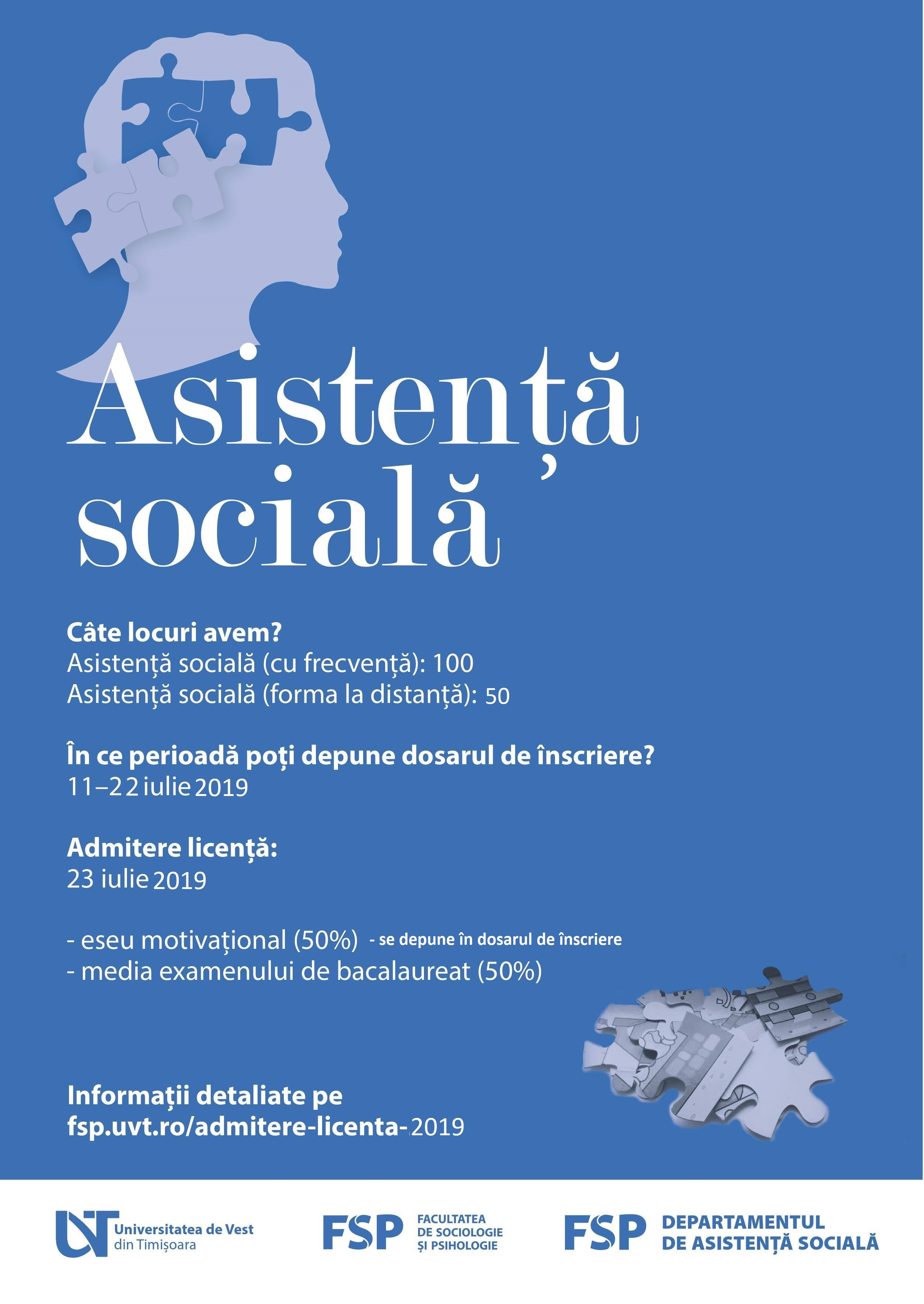 ASISTENTA SOCIALA