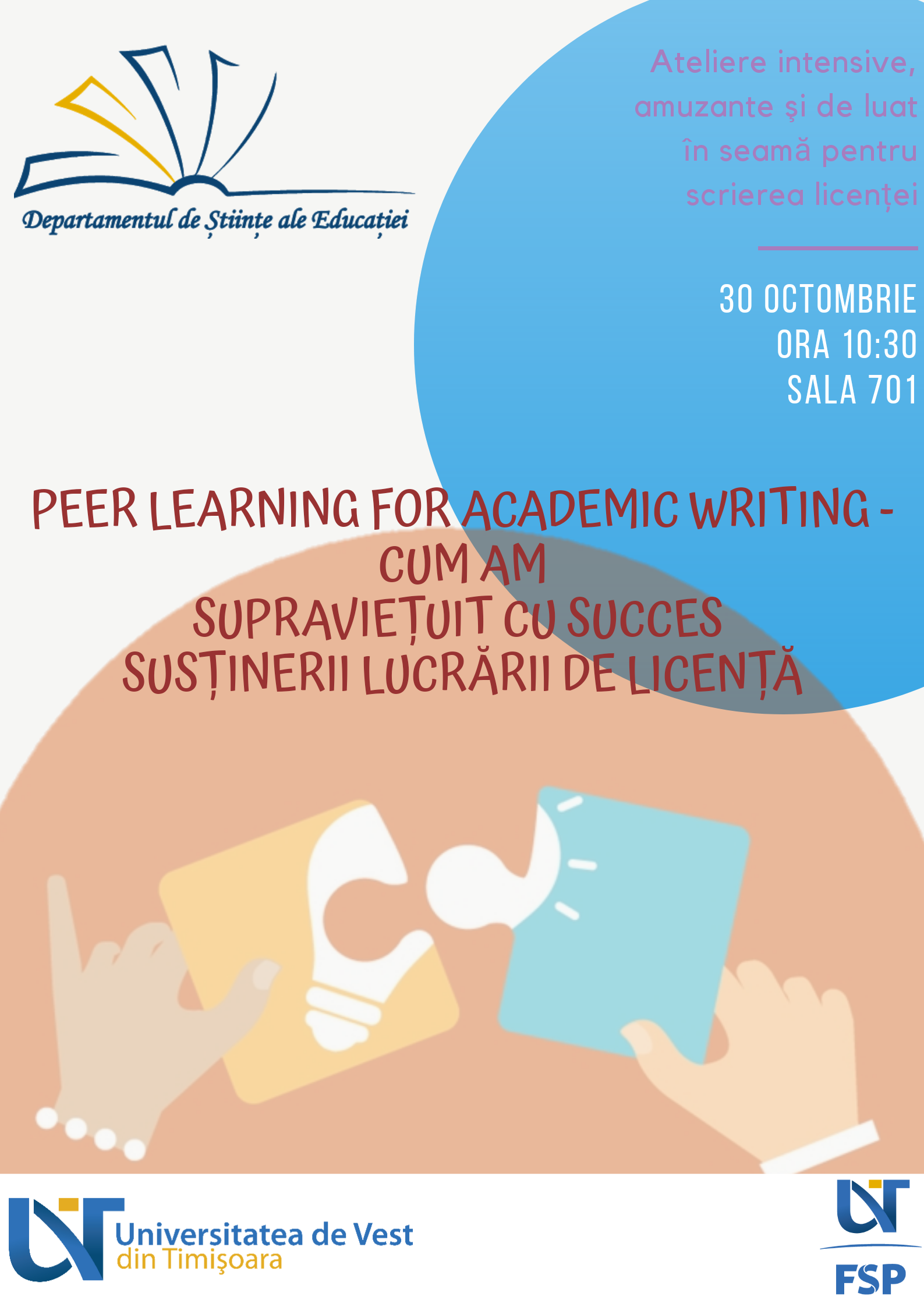 Peer Learning for Academic Writing