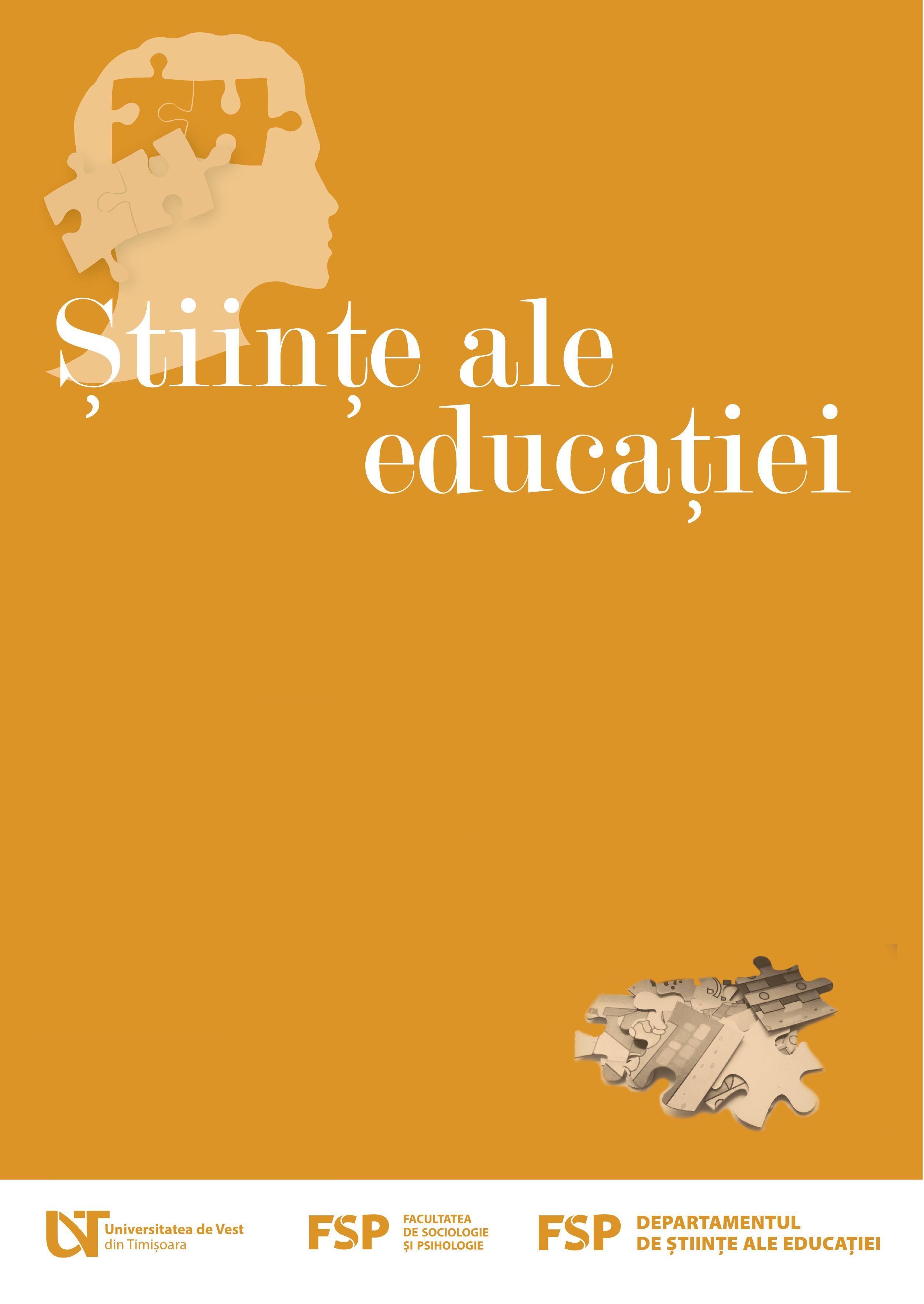 STIINTE ALE EDUCATIEI