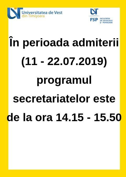 program secretariat