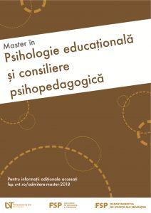 Psihologie educațională și consiliere psihopedagogică